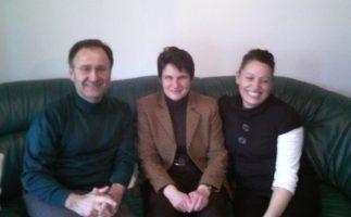 Mit der Sozialministerin BW Frau Tanja Gönner