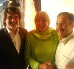 Mit Claudia Roth und dem 3. Bürgermeister von Augsburg