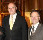Mit dem OB Dr. Krib im goldenen Saal Augsburg